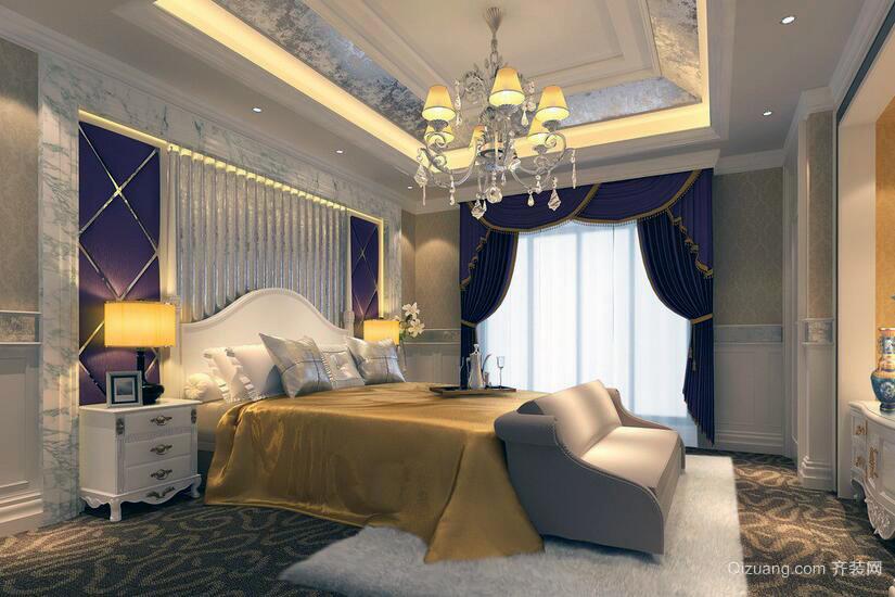 2016雍容华贵的大户型欧式卧室装修效果图