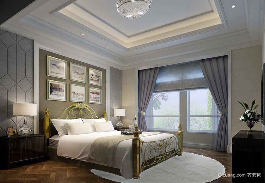 2016都市宜家二居室卧室室内装修效果图