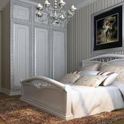甜美舒适大户型简欧风格卧室装修效果图实例