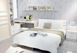 现代风格优雅的大户型卧室背景墙装修效果图