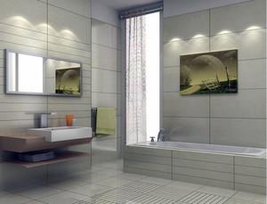 20平米欧式风格小户型洗手间装修效果图