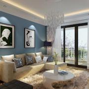 现代主义风格小户型客厅装修效果图