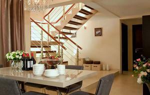 大户型欧式风格阁楼楼梯装修效果图实例