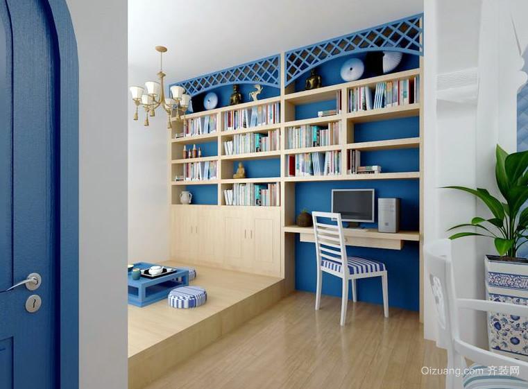小户型地中海风情书房装修效果图