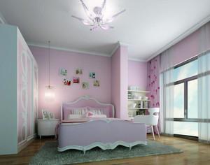 2016都市家庭欧式风格儿童卧室装修效果图