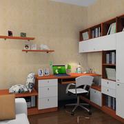 室内书柜设计图