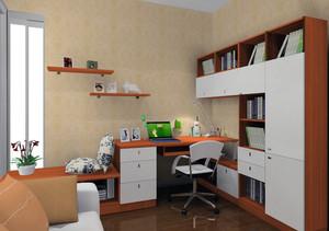 2016经典的大户型家居书房室内装修效果图