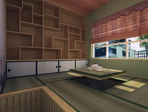 都市小户型装修榻榻米卧室装修效果图实例