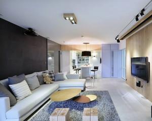 2016都市精致单身公寓室内吊顶装修效果图