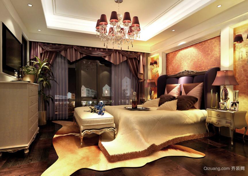 2106年新款欧式卧室装修效果图