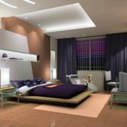 现代简约风格风格卧室装修效果图