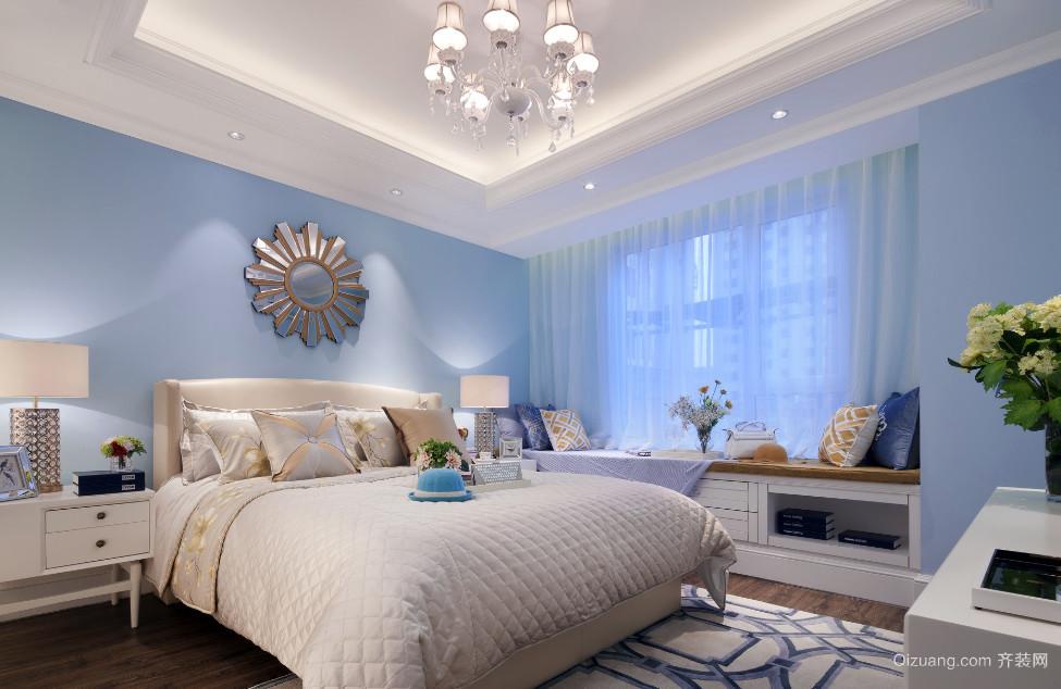 地中海风情卧室装修效果图