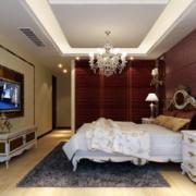 欧式复古混搭卧室装修效果图