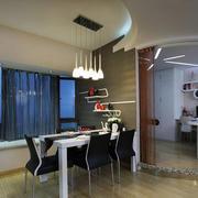 60平米欧式风格餐厅装修设计效果图实例