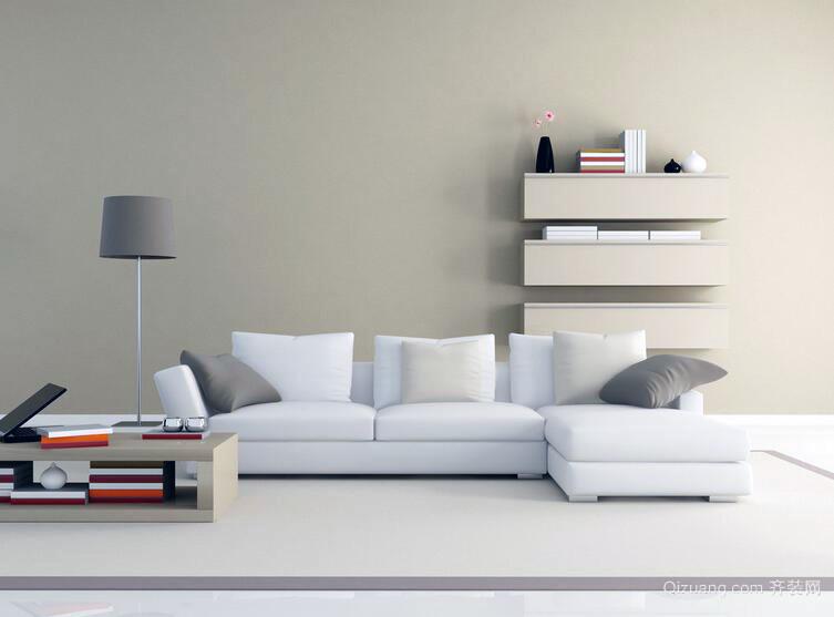 简欧小户型家庭室内背景墙装潢装修设计效果图