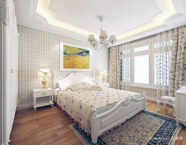 创意甜美现代小户型卧室室内装修效果图