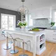 大户型家装现代简约风格吧台装修效果图欣赏