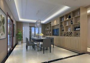 时尚都市大户型家居酒柜设计装修效果图