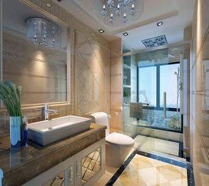 40平米小户型欧式卫生间背景墙装修效果图