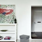 现代室内背景墙