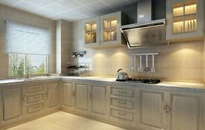 现代时尚厨房效果图