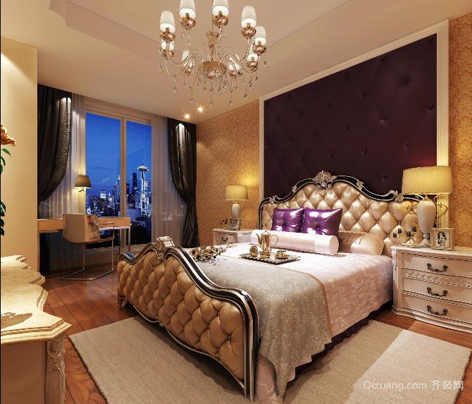 全新款别墅型欧式典雅卧室装修效果图