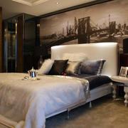 时尚后现代风格卧室装修效果图