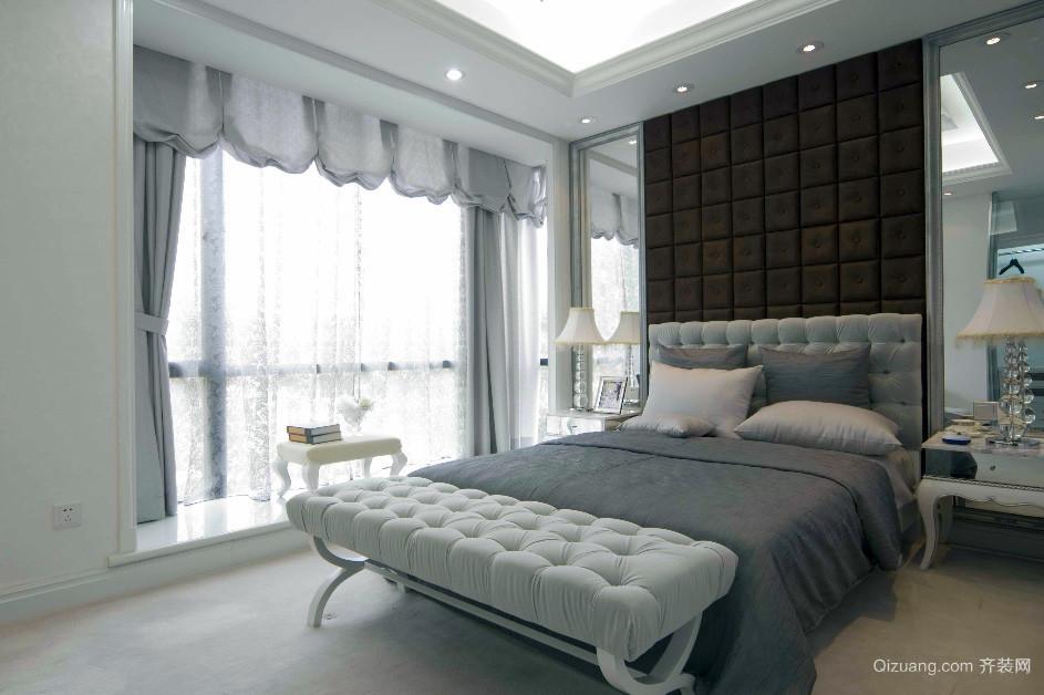 欧式端庄典雅风格卧室装修效果图