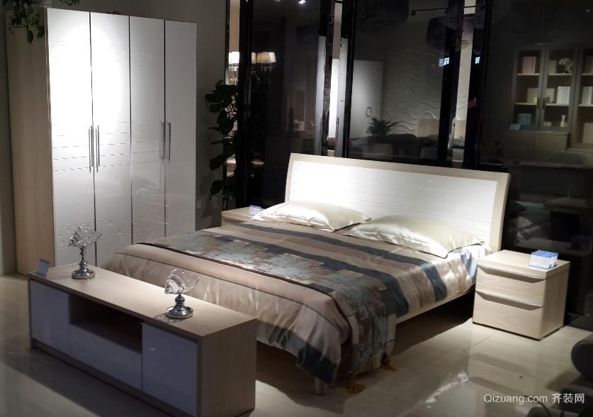 大户型现代简约时尚卧室装修效果图