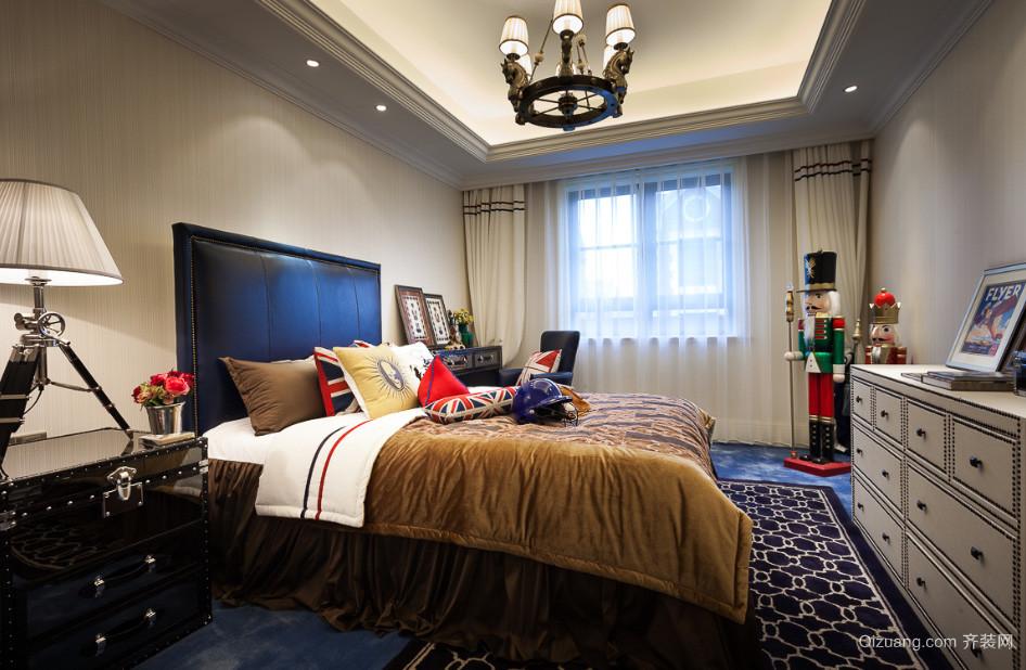 时尚混搭欧式英伦卧室装修效果图