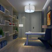 精致美观的现代大户型书房室内装修效果图