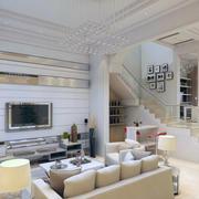小户型欧式风格客厅装修效果图实例