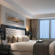 90平米欧式风格卧室装修效果图实例
