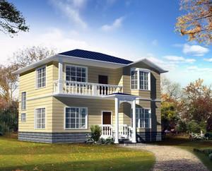 2016极美精致的农村小别墅设计效果图