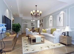 2016尊贵别墅欧式家庭客厅吊顶装修效果图