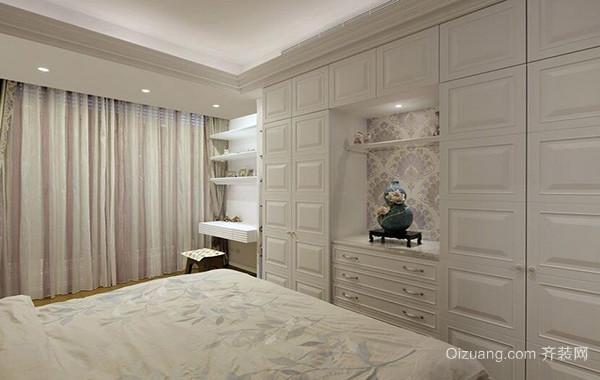 简欧风格别墅室内整体衣柜装修效果图