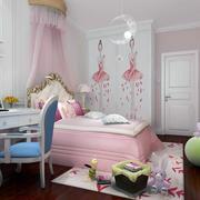 时尚梦幻女儿童房