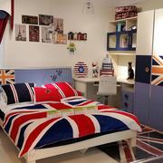 时尚英伦风格儿童房家居