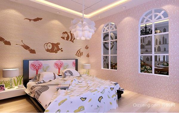 大户型和三居室时尚都市儿童房装修效果图