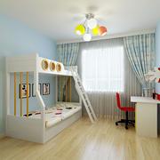 实用儿童双层床装修图