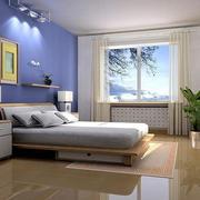 120平简约精致卧室装修效果图