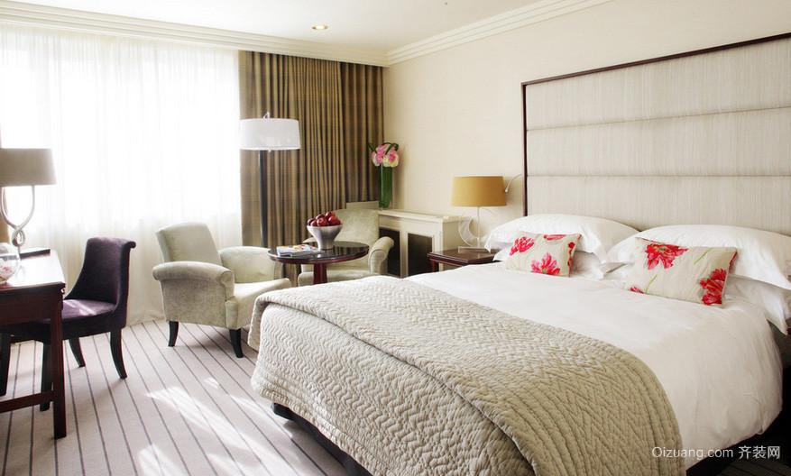 大户型都市简约风格卧室装修效果图