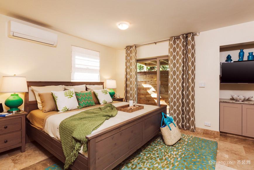 2016年全新款简约时尚卧室装修效果图