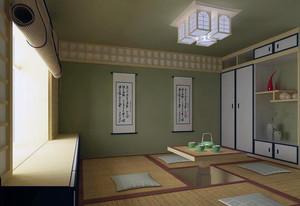 小户型日式风格舒适榻榻米装修效果图