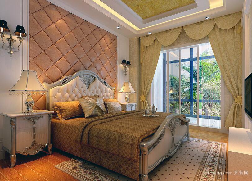 现代小户型欧式卧室设计装修效果图实例