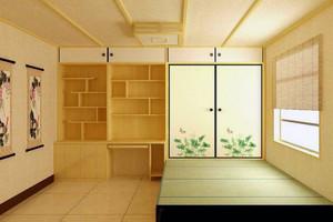 现代小户型装修榻榻米装修效果图实例