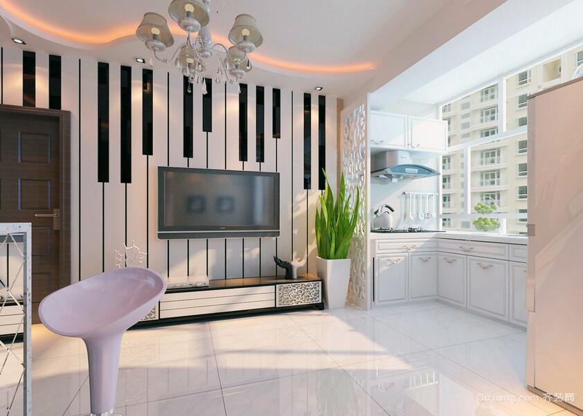 2016精美的欧式大户型家庭室内装修效果图