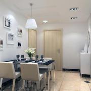 别墅型现代家居餐厅设计装修效果图实例