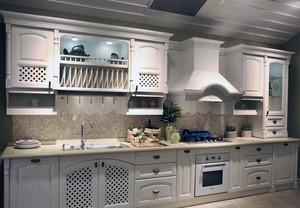 110平米大户型欧式风格厨房橱柜装修效果图