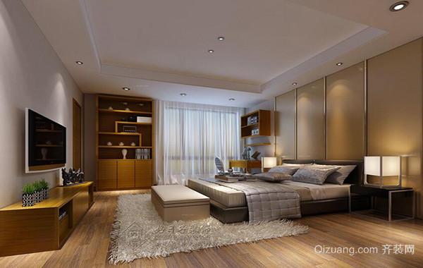 120平米别墅欧式房子卧室背景墙装修效果图